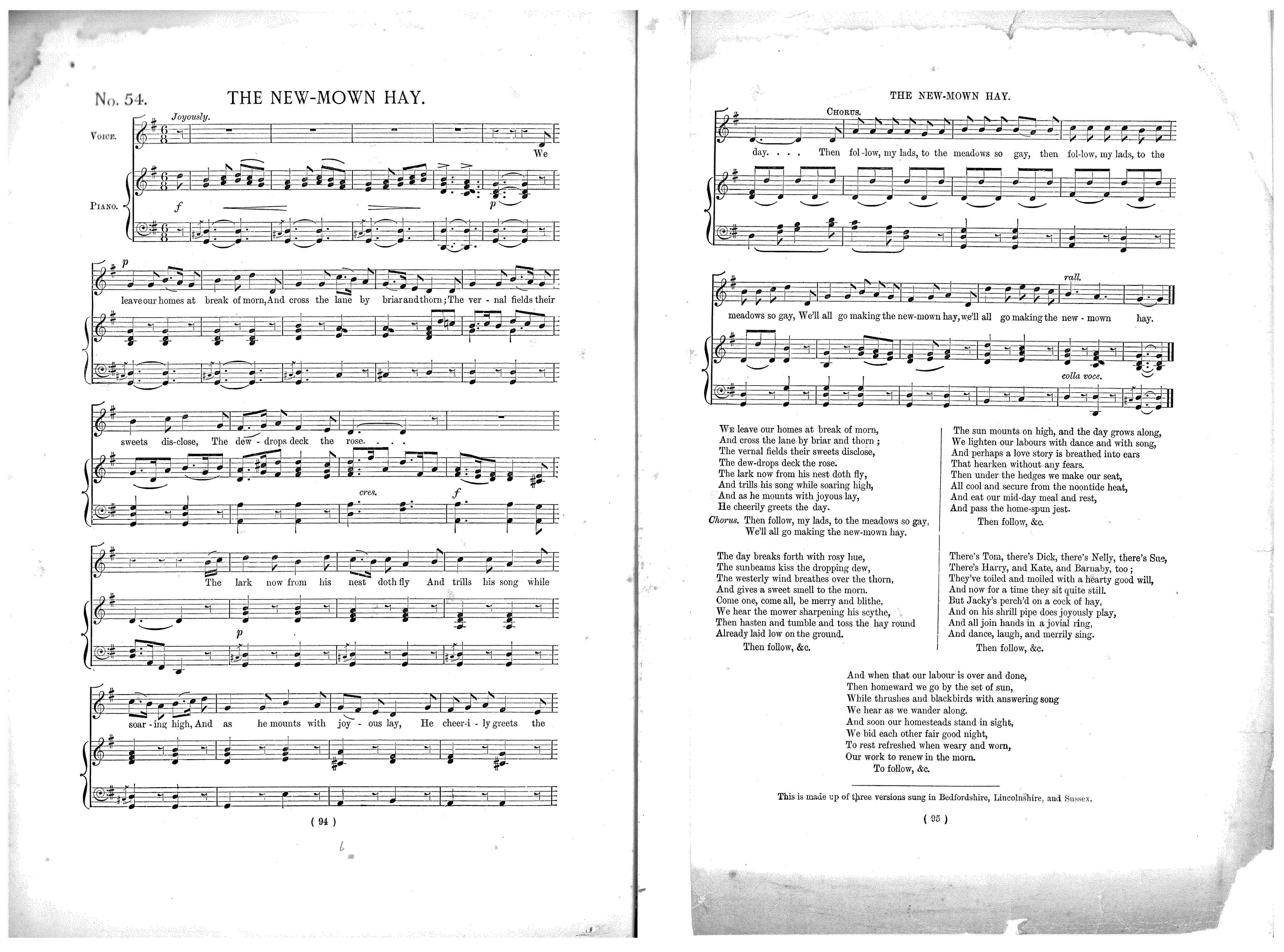Rare Song Books – Traditional Song Forum